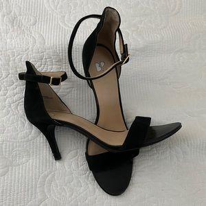 BP Black Strap Heel